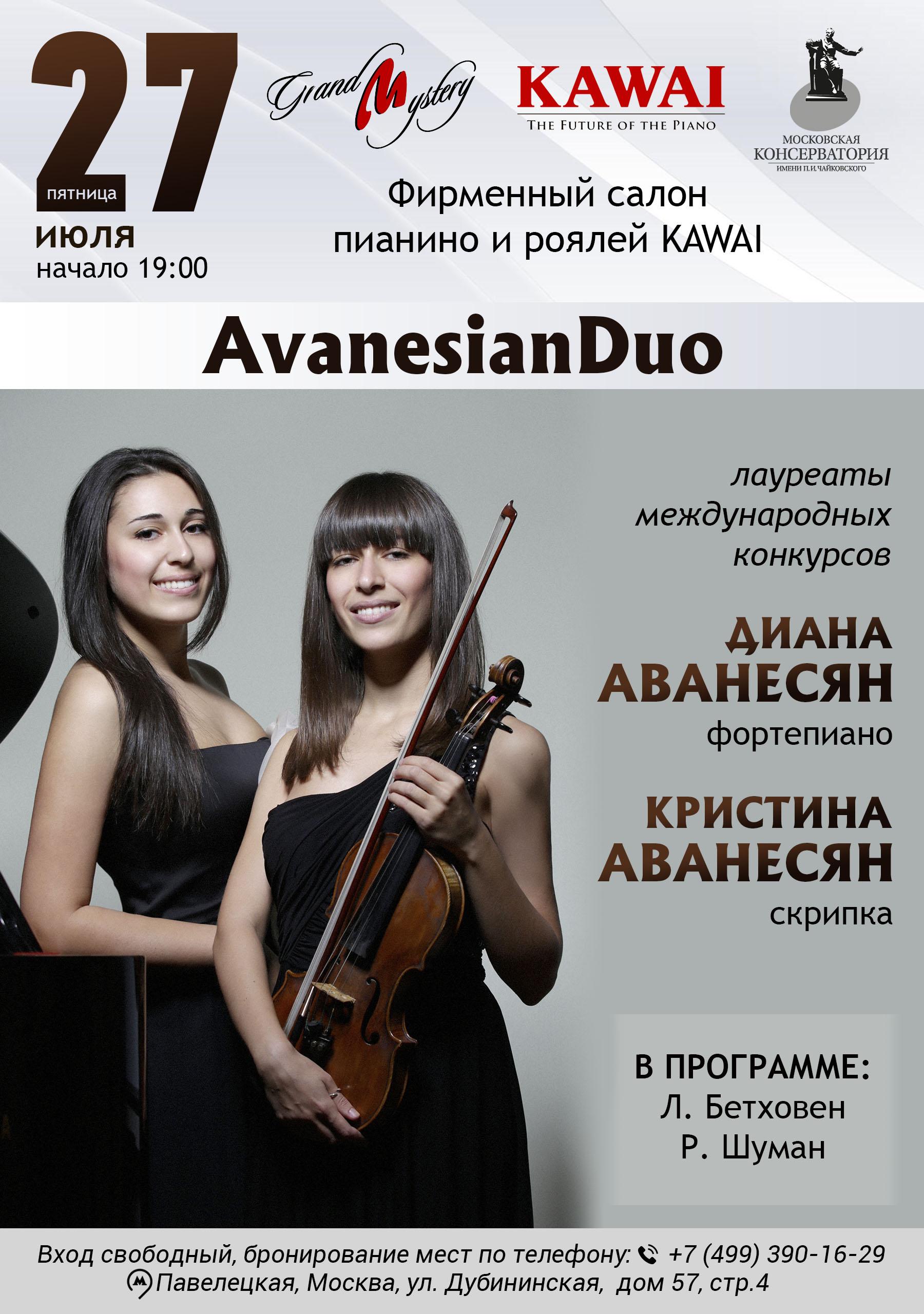 Инструментальный концерт AvanesianDuo